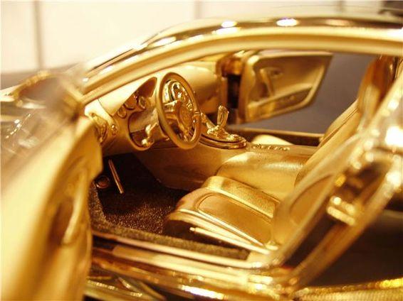 News Golden Bugatti Veyron Purple Regime